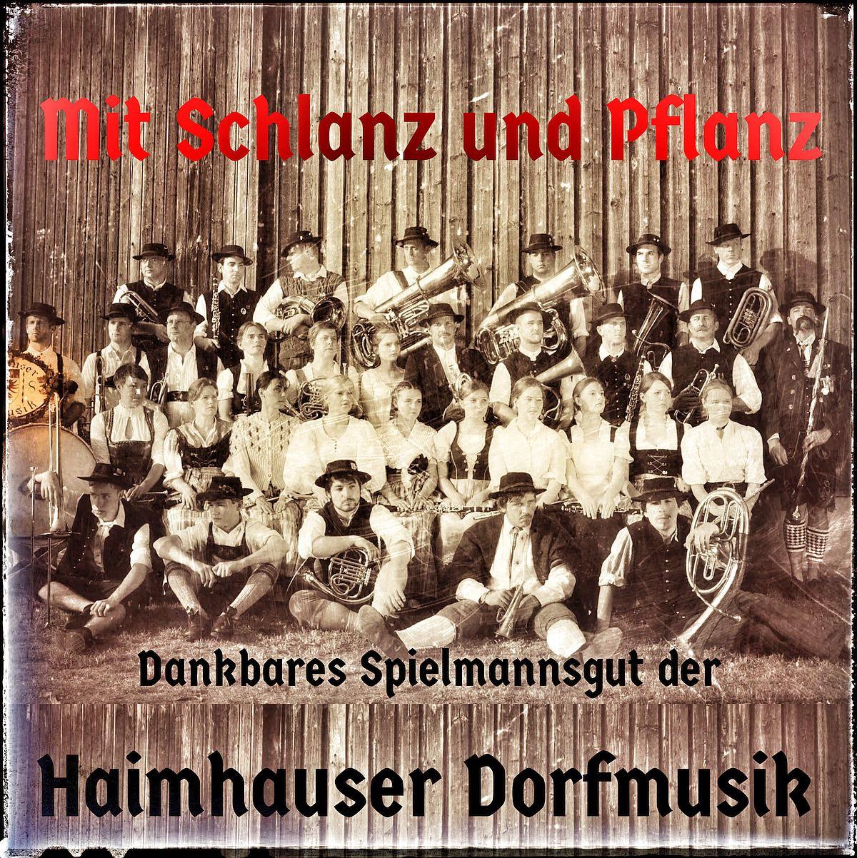 Haimhauser Dorfmusik_Cover